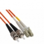 Волоконно-оптические патч-корды многомодовые 62.5/125 (OM1) LC-ST Hyperline