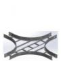 Разветвители крестообразные для лестничного лотка OSTEC серии НЛО