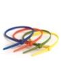 Стяжки пластиковые неоткрывающиеся, нейлон ширина до 3,7 мм