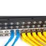Патч-корды F/UTP Cat.6 экранированные угловые 45° LSZH Hyperline