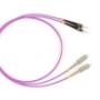 Волоконно-оптические патч-корды многомодовые 50/125 (OM4) SC-ST Hyperline