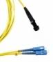 Волоконно-оптические патч-корды одномодовые 9/125 (OS2) duplex MTRJ-SC Hyperline