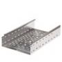 Лотки перфорированные нержавеющая сталь высота 100 мм
