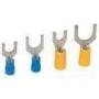 Кабельные наконечники вилочные для кабеля сечением 0.25 - 1.5 мм.кв.