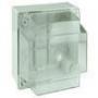 Коробки ответвительные с гладкими стенками и высокой прозрачной крышкой DKC/ДКС