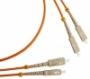 Волоконно-оптические патч-корды многомодовые 50/125 (OM2) SC-SC Hyperline