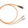 Волоконно-оптические патч-корды многомодовые 62.5/125 (OM1) SC-ST Hyperline