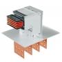 Шинопроводы с медными проводниками 3P + N + Pe + Fe/2 1600 A