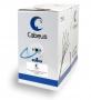 Cabeus UTP-4P-Cat.5e-SOLID-LSZH-BL