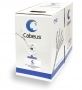 Cabeus UTP-4P-Cat.5e-SOLID-LSZH-GY