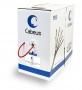 Cabeus UTP-4P-Cat.5e-SOLID-LSZH-RD