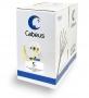 Cabeus UTP-4P-Cat.5e-SOLID-LSZH-YL